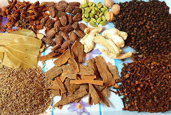 all whole spices